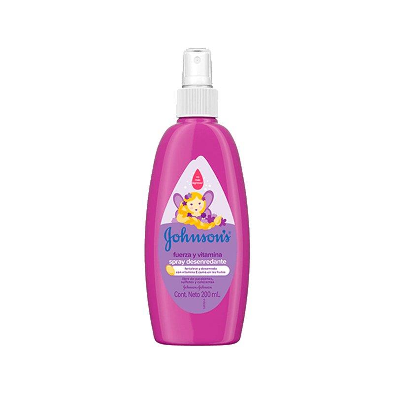 Jhonsons Spray Desenredante Fuerza y Vitamina 200ml