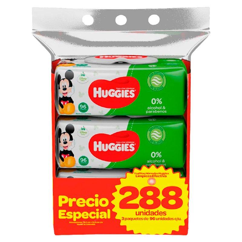 Huggies Toallitas Húmedas Limpieza Efectiva x 288
