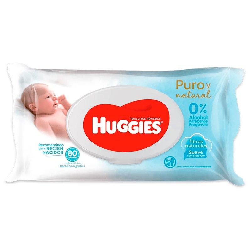 Huggies Toallitas Húmedas Recién Nacido x 80