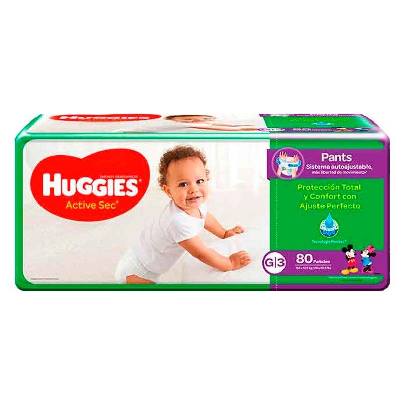 Huggies Active Sec Pants G X 80
