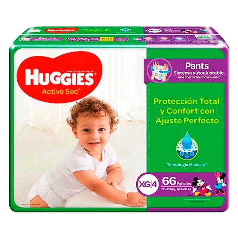 Huggies Active Sec Pants XG X 66