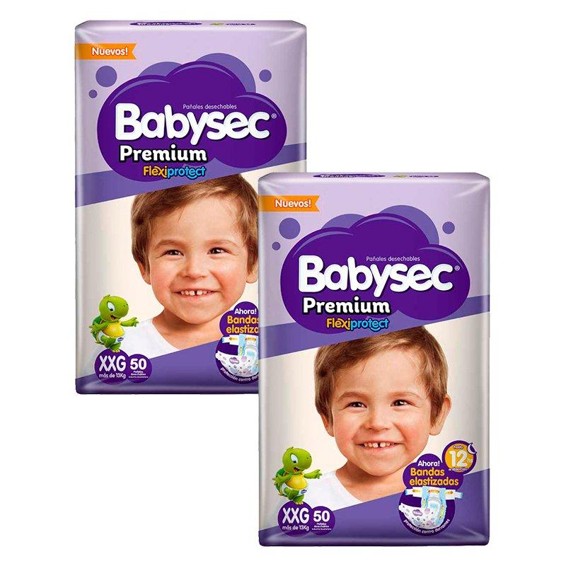 Babysec Premium DuoPack XXG X 100