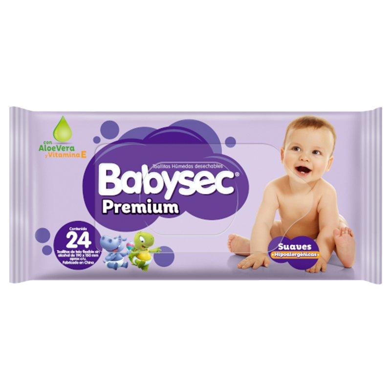 Babysec Toallas Premium X 24