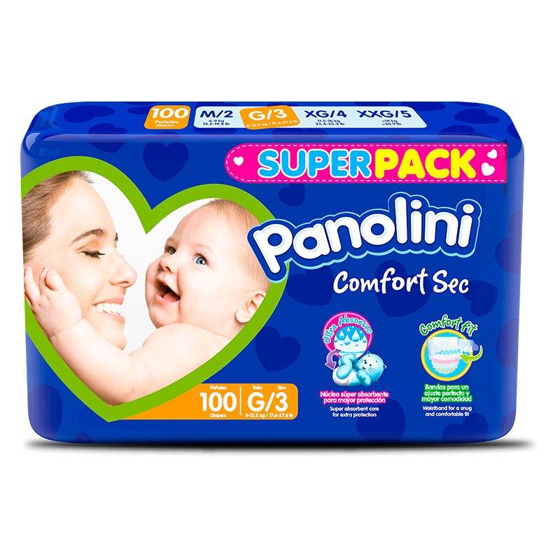 Panolini Comfort Sec G X 100