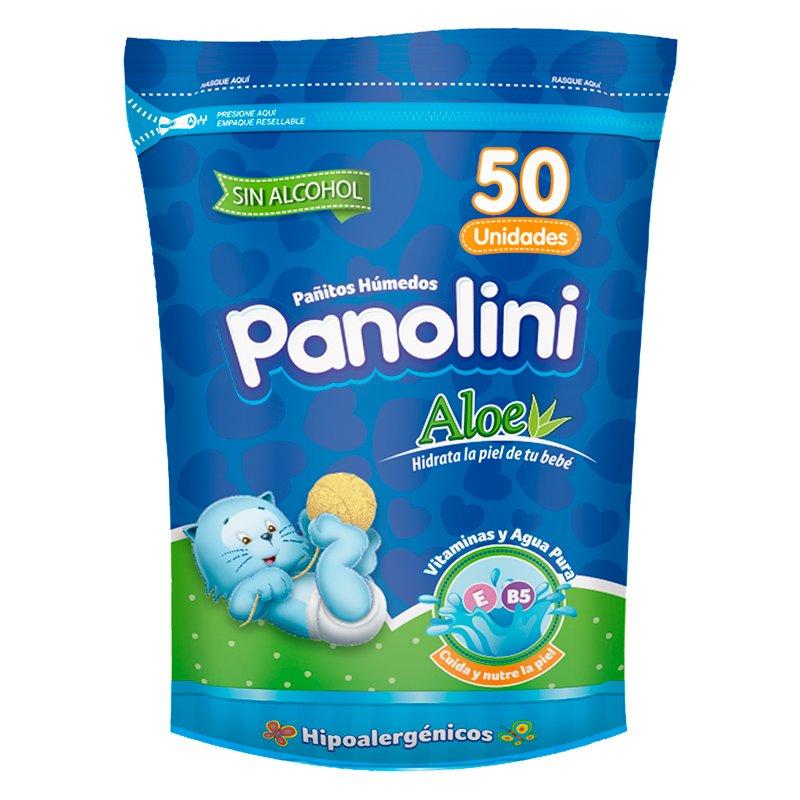Panolini Pañitos Aloe X 50