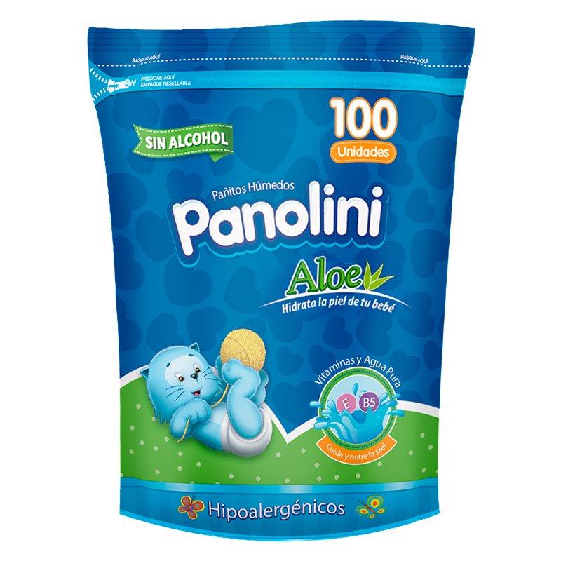 Panolini Pañitos Aloe X 100