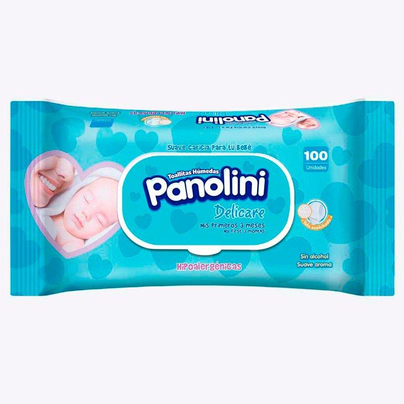 Panolini Toallitas Delicare X 100