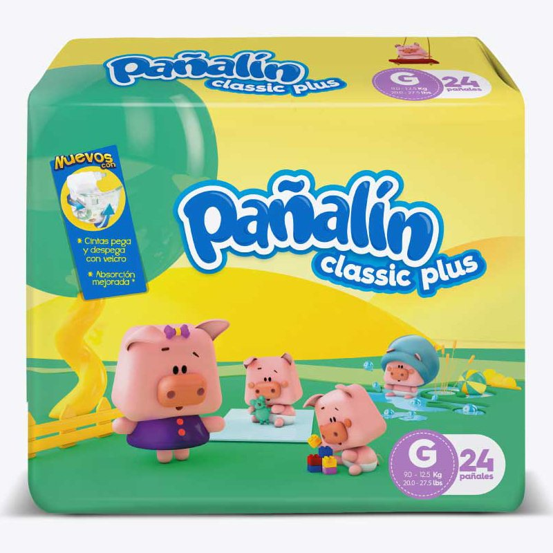 Pañalín Classic Plus G X 24