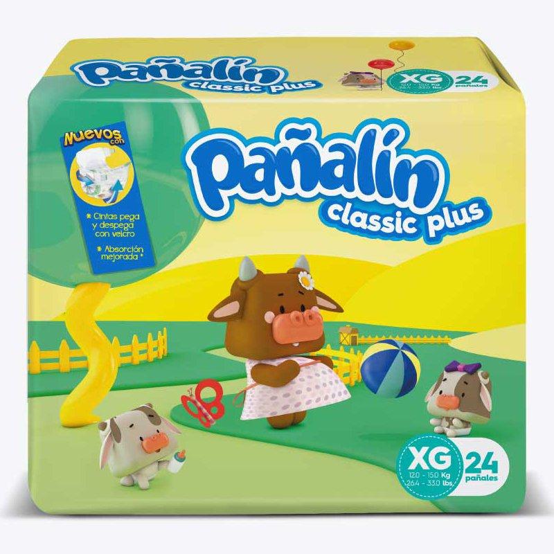 Pañalín Classic Plus XG X 24