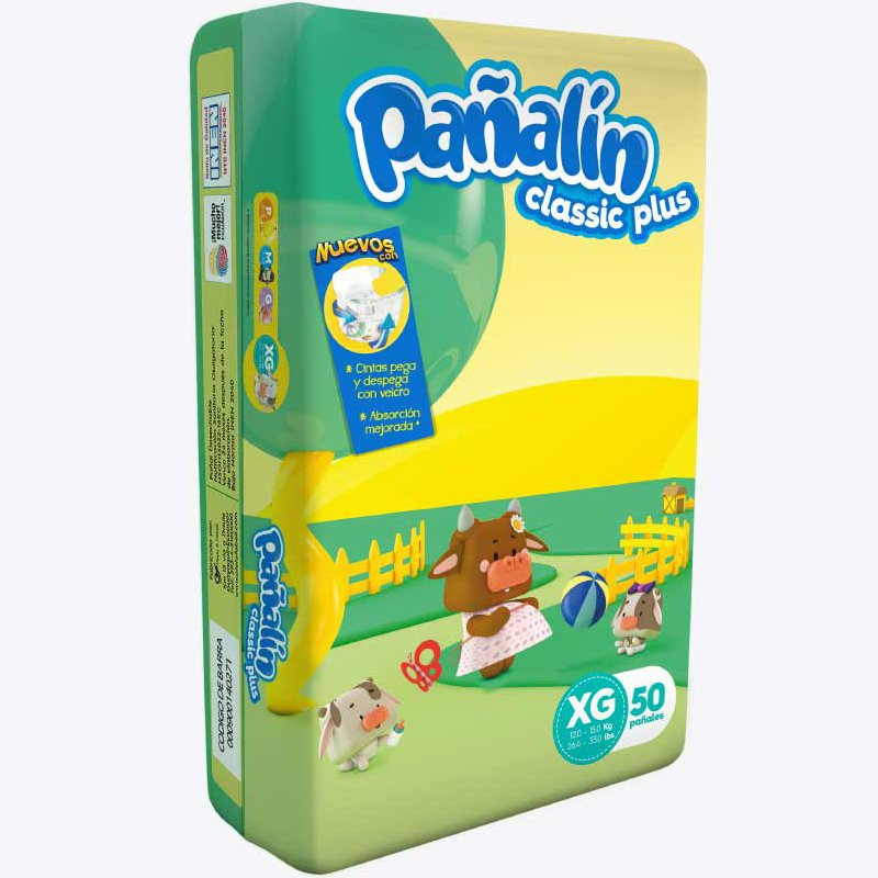 Pañalín Classic Plus XG X 50
