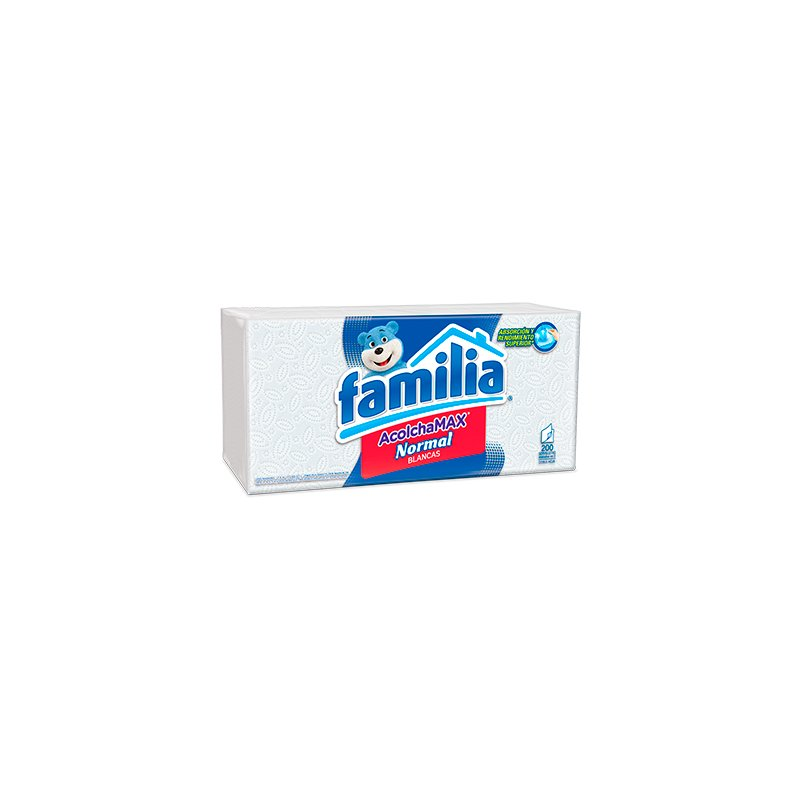 Servilletas Familia Acolchamax Normal X200