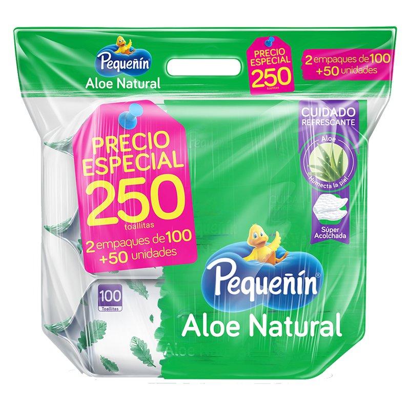 Pañitos Pequeñin Aloe - X250